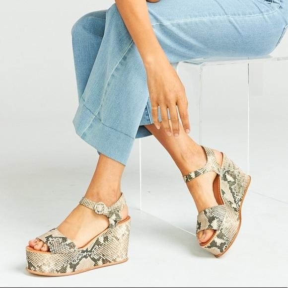 3d64c3fa8aa6 Dolce Vita Shoes - Dolce Vita ~ Datiah Wedge Heels ~ Snake Print